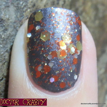 Essie Matte About You, China Glaze Awaken, and Nayll Gallifrey Swatch by Nicole