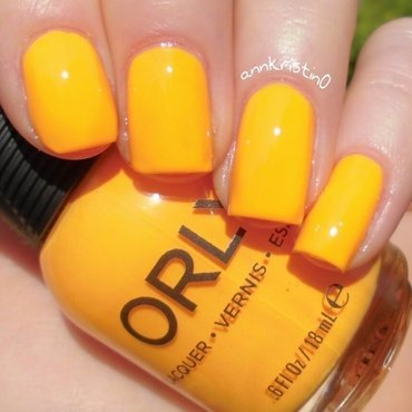 Orly Tropical Pop Swatch by Ann-Kristin