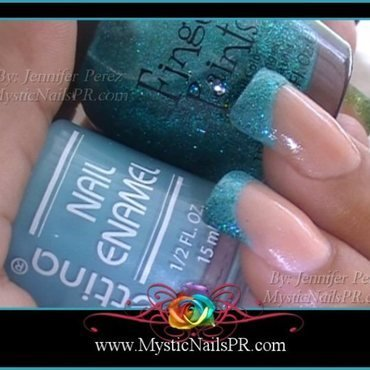 FingerPaints Art You Wondering Swatch by Jennifer Perez ♥ Mystic Nails