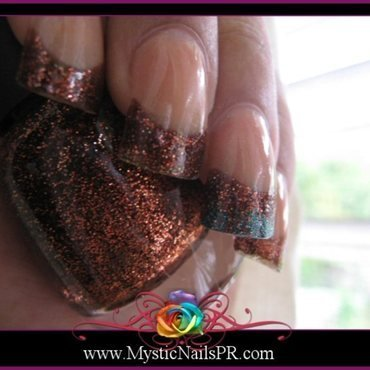 Nina Ultra Pro Call The Coppers Swatch by Jennifer Perez ♥ Mystic Nails