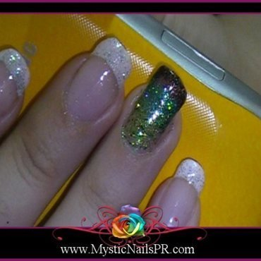 A Touch of Color! ♥ by Jennifer Perez nail art by Jennifer Perez ♥ Mystic Nails