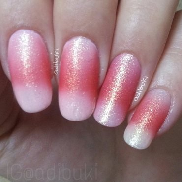 OPI Pinking of you and Black Sheep Polish Lips Like Sugar Swatch by Adi Buki