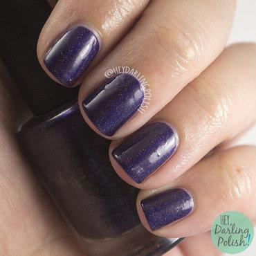 I love nail polish grapealicious purple holo swatch 3 thumb370f