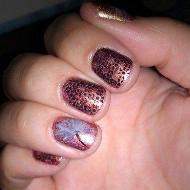 Dandelion Nail Art nail art by Fabiola