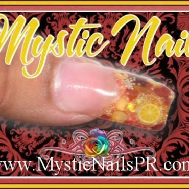 Pepper Flake ♥ by Jennifer Perez nail art by Jennifer Perez ♥ Mystic Nails