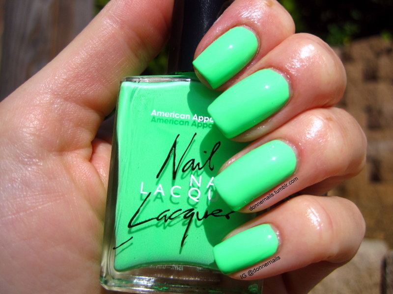 American Apparel Parakeet Swatch by Donner
