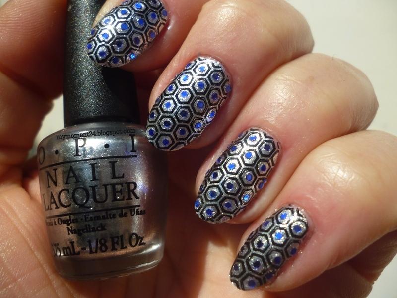 Party Nails nail art by T. Andi