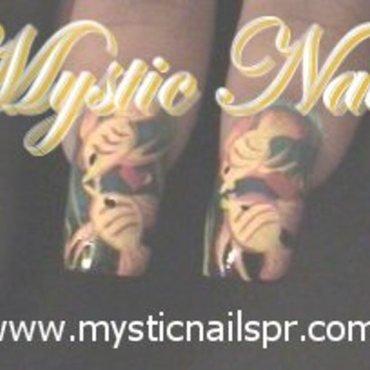 Summertime Love! ♥ by Jennifer Perez nail art by Jennifer Perez ♥ Mystic Nails