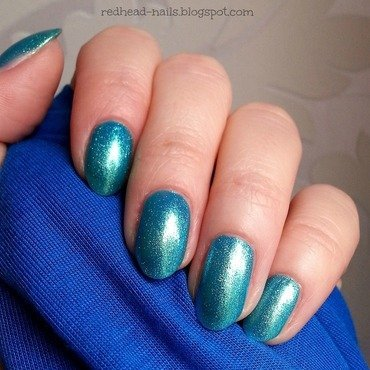 Catrice Never Green Before Swatch by Redhead Nails