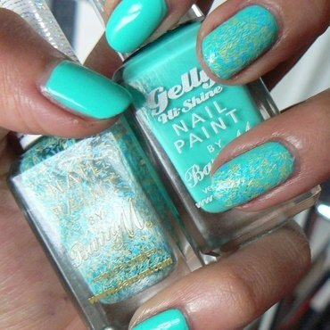 Barry M Greenberry Swatch by Aysha Baig