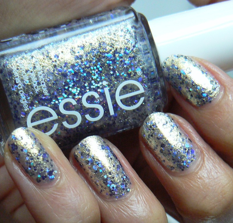Essie On A Silver Platter Swatch by Aysha Baig