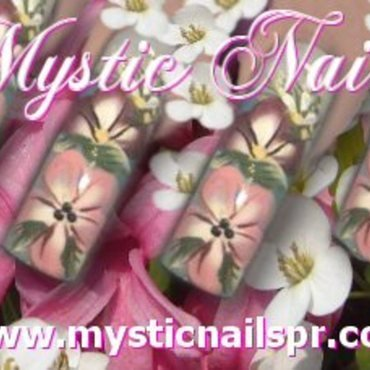 Flower Garden ♥ by Jennifer Perez nail art by Jennifer Perez ♥ Mystic Nails
