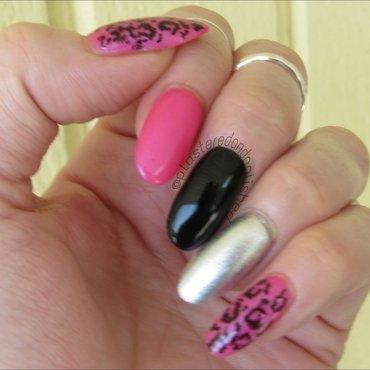 skittle nails nail art by Anne-Marie Dyal