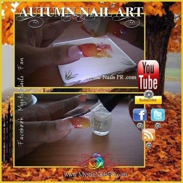 Autumn Nail Art SIMPLE ♥ by Jennifer Perez nail art by Jennifer Perez ♥ Mystic Nails