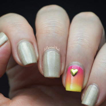 Twinsie Tuesday Summer Lovin' nail art by Bridget Reynolds