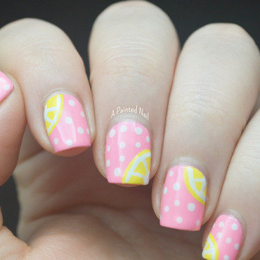 Twinsie Tuesday Food/Beverage nail art by Bridget Reynolds