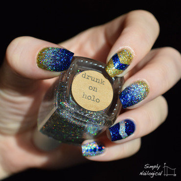 The glitteriest nail art in all the land nail art by simplynailogical