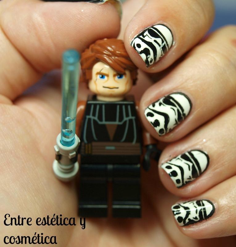 Stormtrooper Nails nail art by MartaRuso