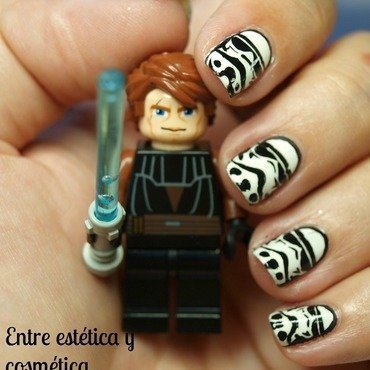 Stormtrooper Nails nail art by MartaRuso