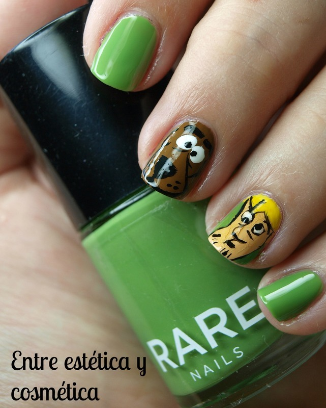 Scooby Doo Nails nail art by MartaRuso