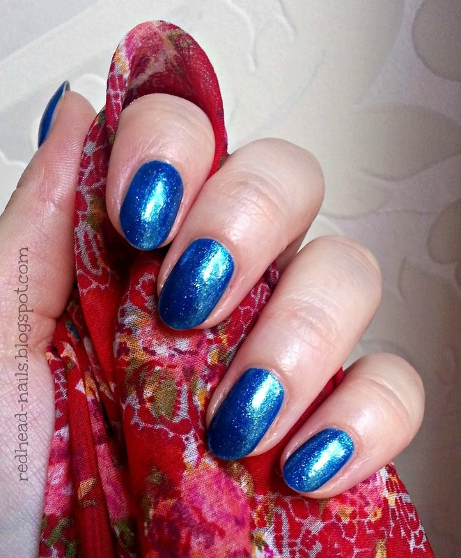 Paese 351 Swatch by Redhead Nails