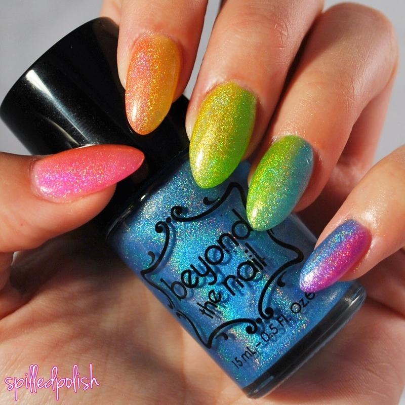 World Pride Nails nail art by Maddy S