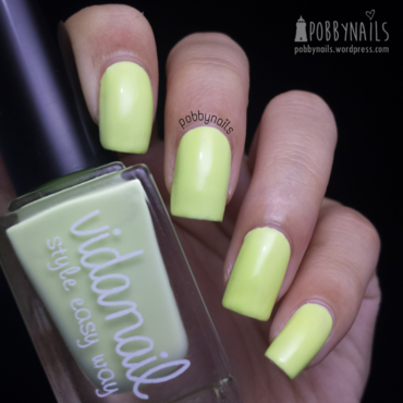 Vidanail Pastel Lime Swatch by Priscilla  Lim