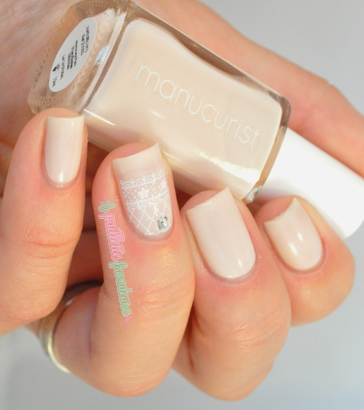 wedding nails nail art by nathalie lapaillettefrondeuse