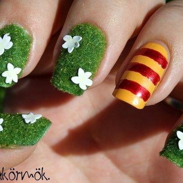 garden nail art nail art by Marianna Kovács