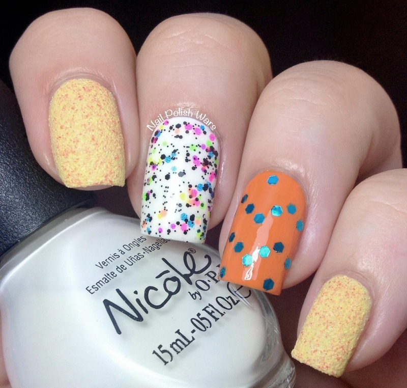 I've Got an Orange Crush on You nail art by Nail Polish Wars