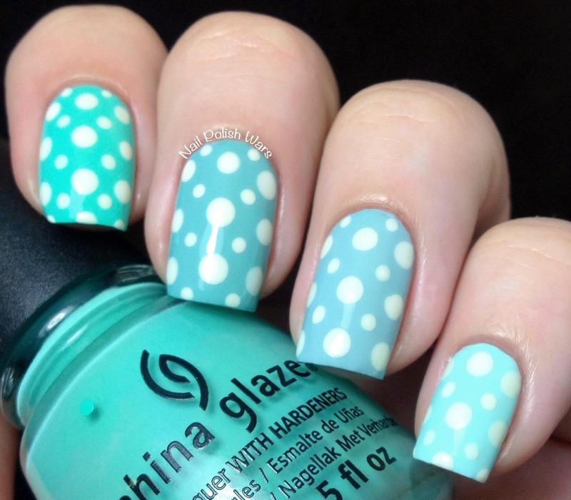 Slightly Similar nail art by Nail Polish Wars