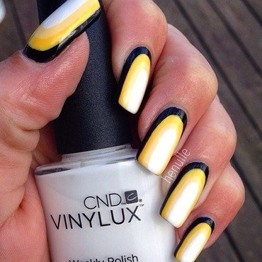 Penguin colours nail art by Henulle