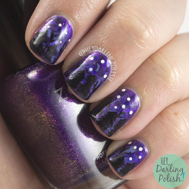 On Holiday nail art by Marisa  Cavanaugh