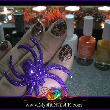 Halloween 20crackle 20candy 20corn 20nail 20art 20by 20jennifer 20perez 20of 20mystic 20nails 20 7b 20u c3 b1as 20dise c3 b1os 20 7d thumb370f