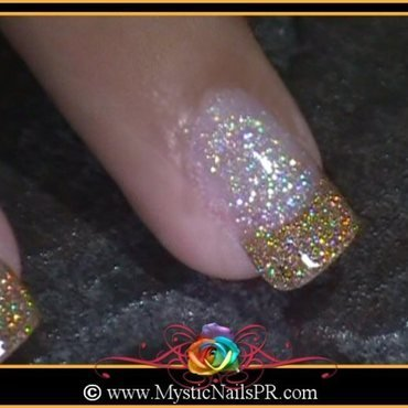Prom Nails ♥ by Jennifer Perez nail art by Jennifer Perez ♥ Mystic Nails