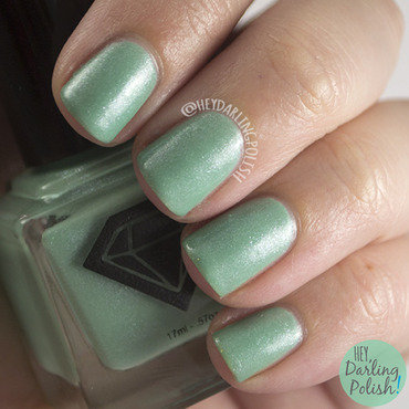 Luxe lacquers mint green anne swatch 3 thumb370f