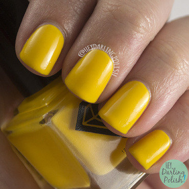 Luxe lacquers mustard yellow siena swatch 3 thumb370f