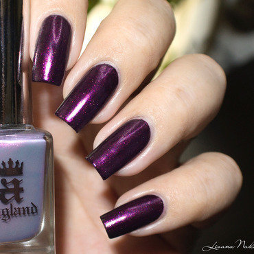 A England Hurt No Living Thing Swatch by Lizana Nails
