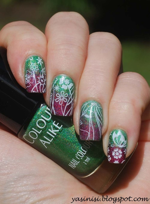 Pueen Encore nail art by Yasinisi