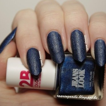 2BE Jeans Look (blue) Swatch by Robin