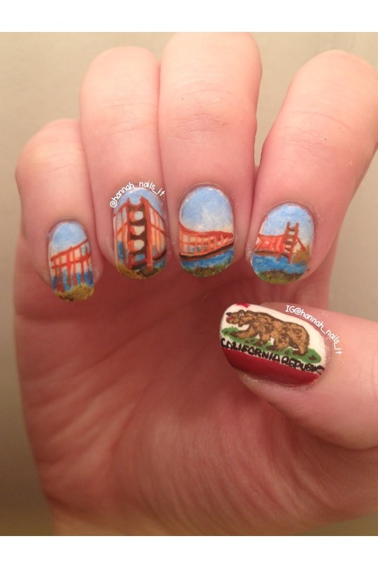 Save Me San Francisco nail art by Hannah - Nailpolis: Museum of Nail Art