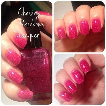 Chasing Rainbows Lacquer Juicy Swatch by sarah regalado