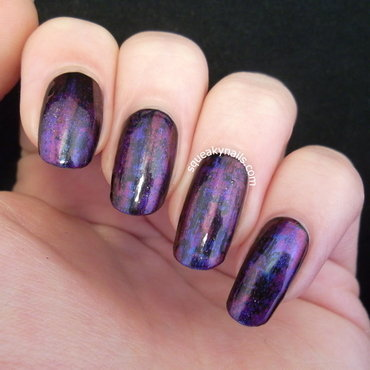 Jewel Tones and Oil Slicks nail art by Squeaky  Nails