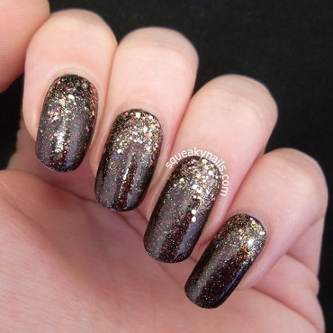 Shimmer Polish Bella and Airriann Gradient nail art by Squeaky  Nails