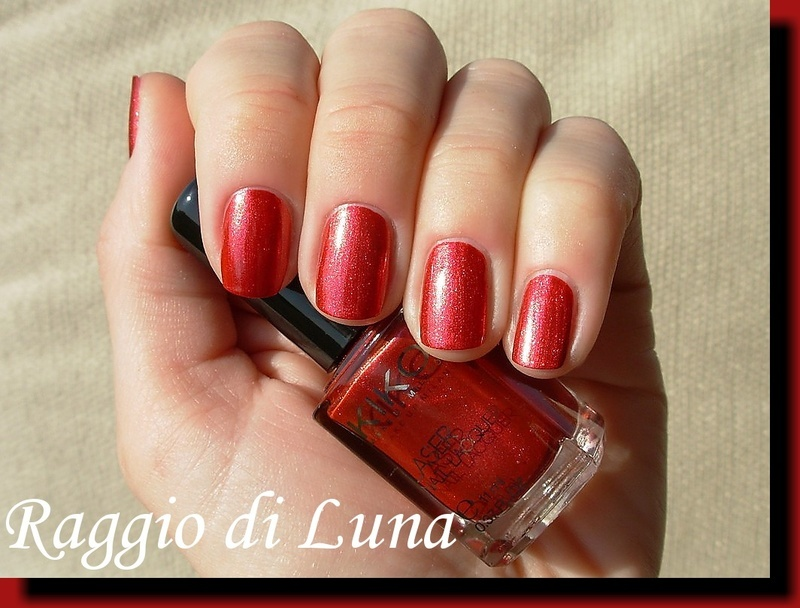 Kiko Laser Nail Lacquer n° 432 Fluent Red by Tanja