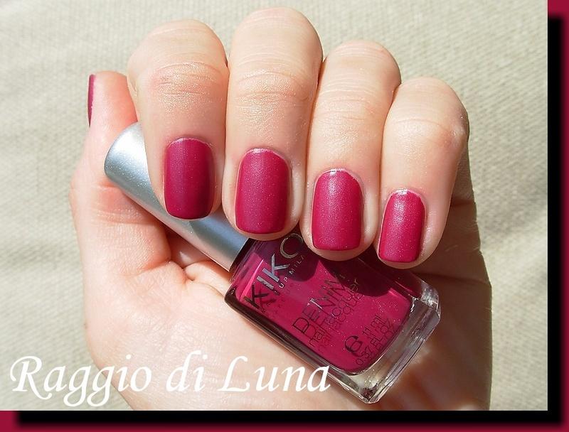 Kiko Denim Nail Lacquer n° 462 Tribal Purple by Tanja