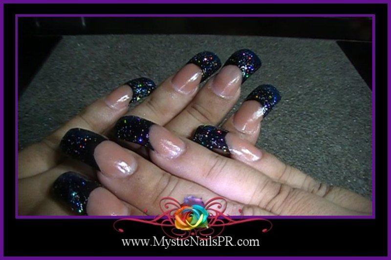 Space Nails ♥ by Jennifer Perez nail art by Jennifer Perez ...