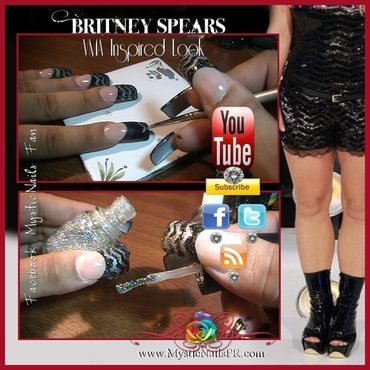 Get The Look ♥ by Jennifer Perez nail art by Jennifer Perez ♥ Mystic Nails