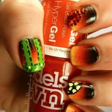 World Cup Nails - Germany nail art by Kimberley