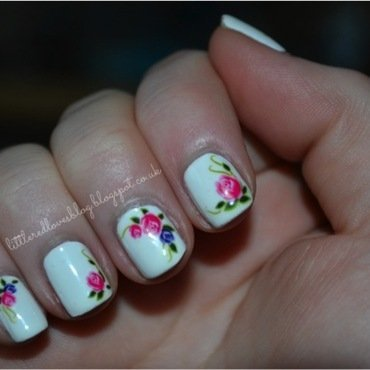 Born Pretty Store Water Decals nail art by Kimberley